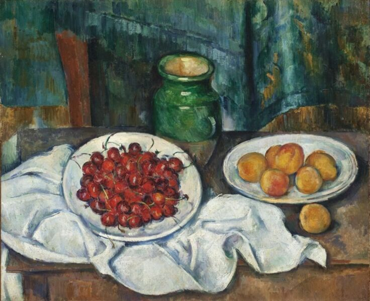 Paul Cézanne, 'Still Life with Cherries and Peaches', 1885-1887