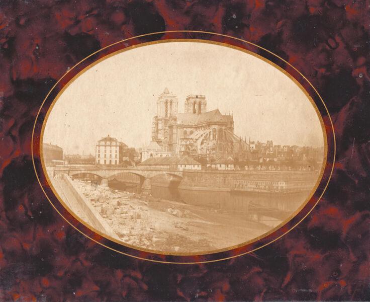 Hippolyte Bayard, 'Notre Dame, Paris', 1843c / 1843c