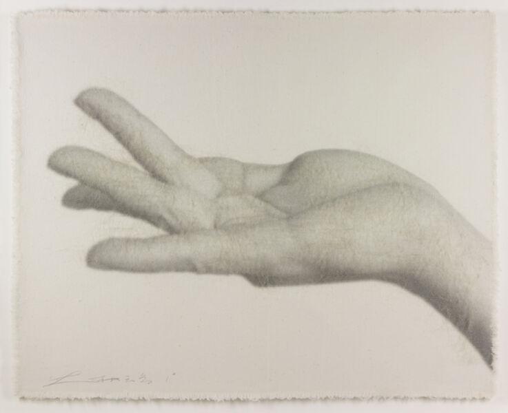 Lin Tianmiao, 'Hand Signal No. 1', 2005