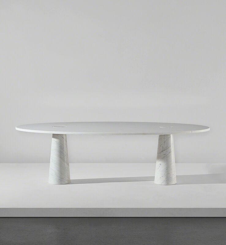 "Angelo Mangiarotti, 'Table, from the ""Eros"" series', circa 1971, Design/Decorative Art, Carrara marble., Phillips"