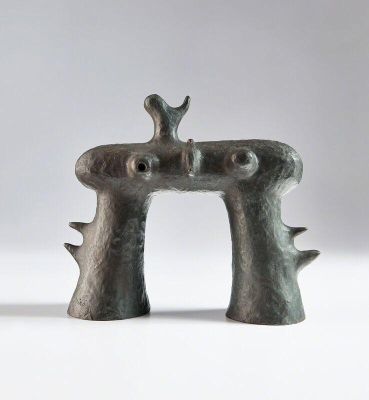 Joan Miró, 'Maquette de l'arc de la Fondation Maeght', 1962, Sculpture, Bronze with grey-brown patina, Phillips