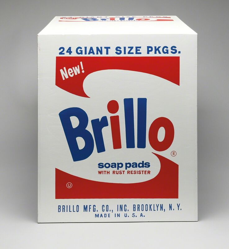 Andy Warhol, 'Brillo Soap Pads Box (Pasadena Type)', 1969, Sculpture, Silkscreen ink on plywood, Phillips