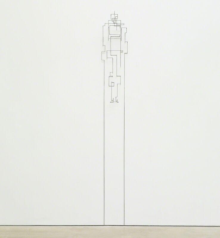 Antony Gormley, 'Lift III', Sculpture, 6mm square section mild steel bar, Phillips