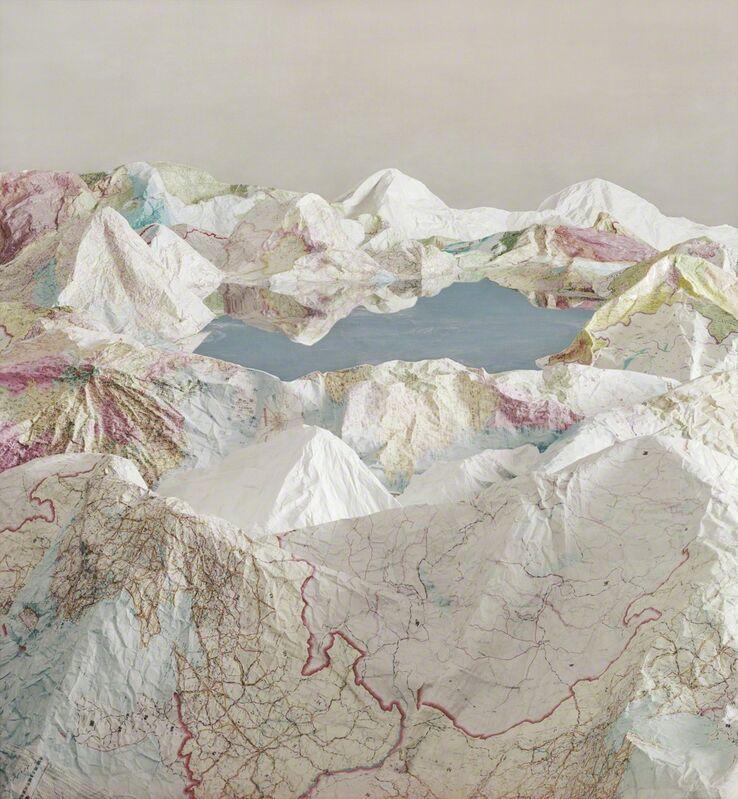 Ji Zhou, 'The Map No. 5', 2015, Photography, Archival pigment print, Eli Klein Gallery