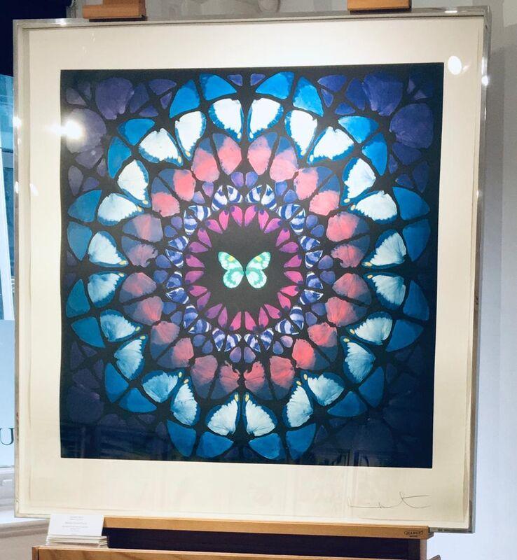 Damien Hirst, 'Minaret (Artist Proof) from Sanctum Series', 2009, Print, Etching, Reuben Colley Fine Art