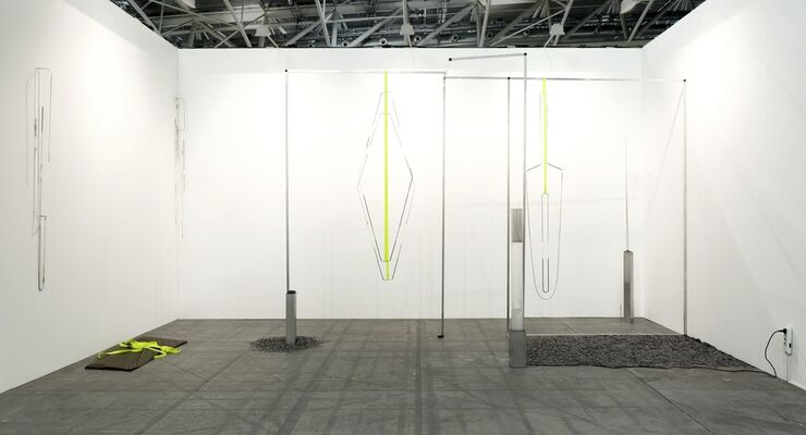 Josh Lilley at Artissima 2017, installation view
