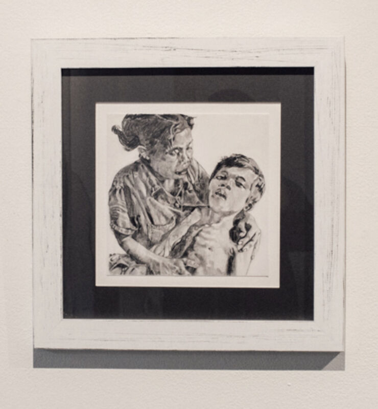Robert Barsamian, 'Vietnam', 2019, Drawing, Collage or other Work on Paper, Pencil on vellum, Conduit Gallery