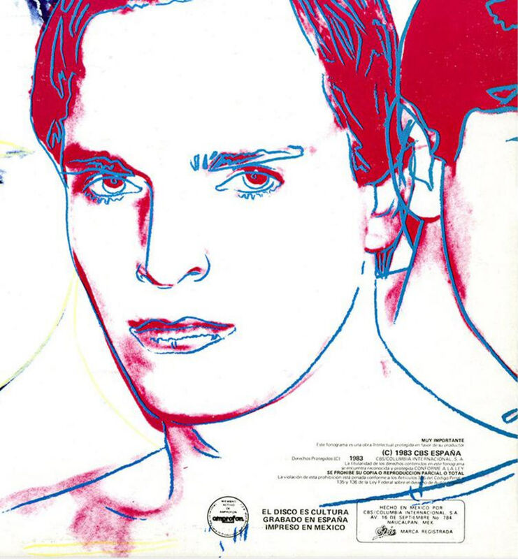 Andy Warhol, 'Rare Andy Warhol Record Cover Art', 1983, Design/Decorative Art, Offset lithograph on record album cover, Lot 180