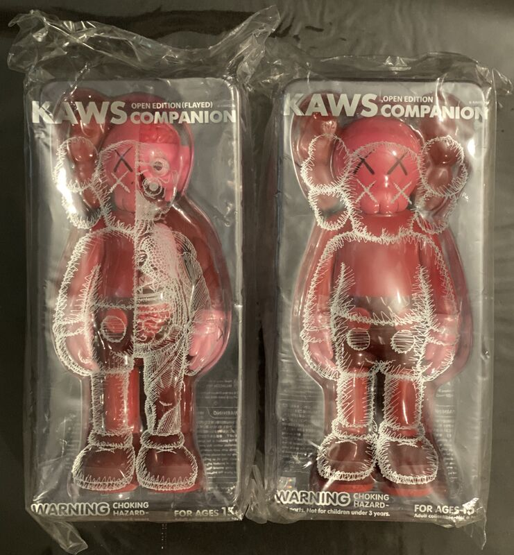 KAWS, 'Kaws Blush Set Flayed & Companion ', 2017, Sculpture, Resin Sculptures, New Union Gallery