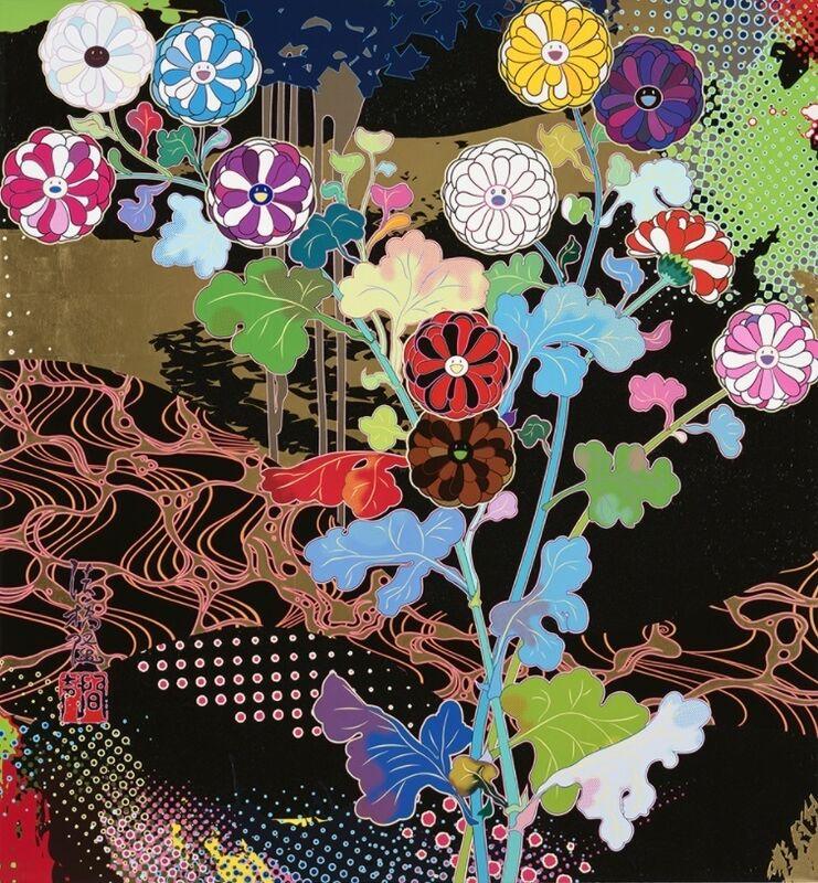 Takashi Murakami, 'Korin: Courtly Elegance', 2020, Print, Offset print, Vogtle Contemporary