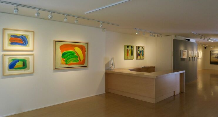 Organic Landscapes, installation view