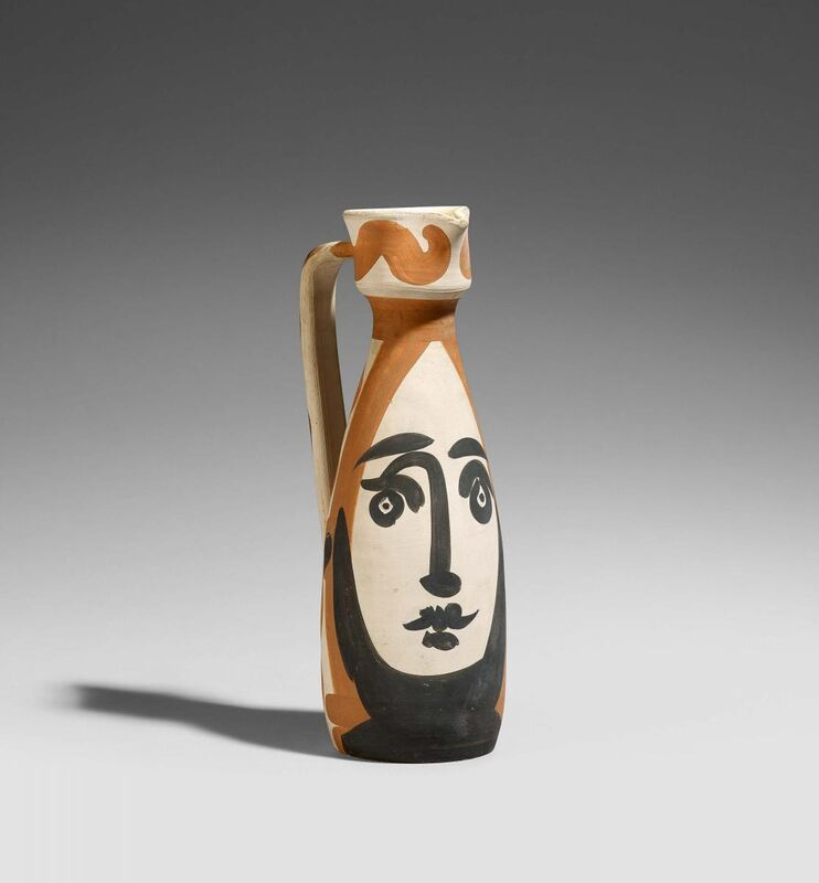 Pablo Picasso, 'Fish subject', 1952, Design/Decorative Art, Red earthenware clay, partially set black and brown, Van Ham