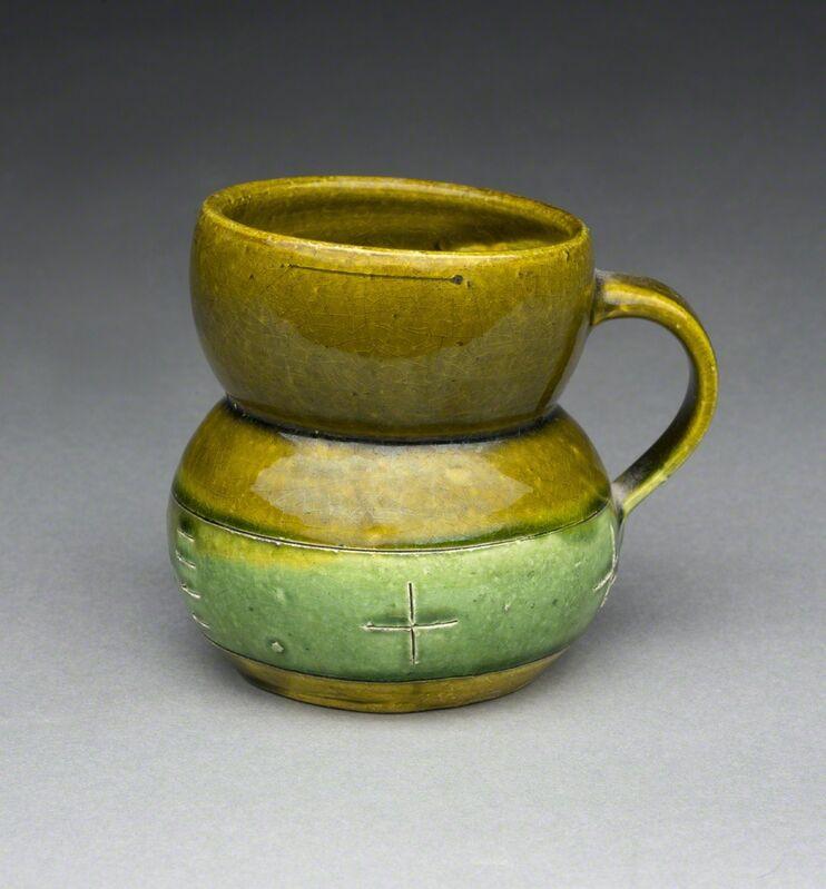 Ken Price, 'Untitled (Green Cup)', ca. 1977, Sculpture, Glazed & painted ceramic, Aaron Payne Fine Art