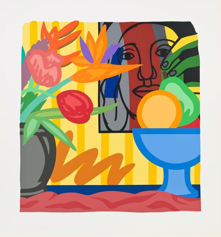 Tom Wesselmann, 'Mixed Bouquet with Leger', 1993, Print, Screenprint, Cristea Roberts Gallery
