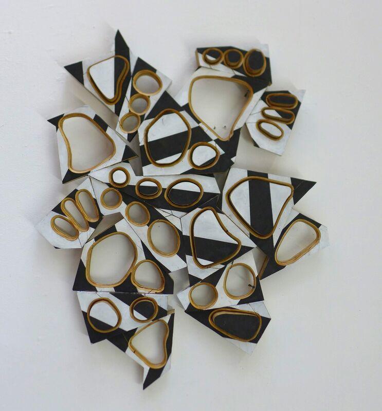 Mel Kendrick, 'Razzle-Dazzle 2', 2016, Sculpture, Plywood, Japan color and gesso, David Nolan Gallery