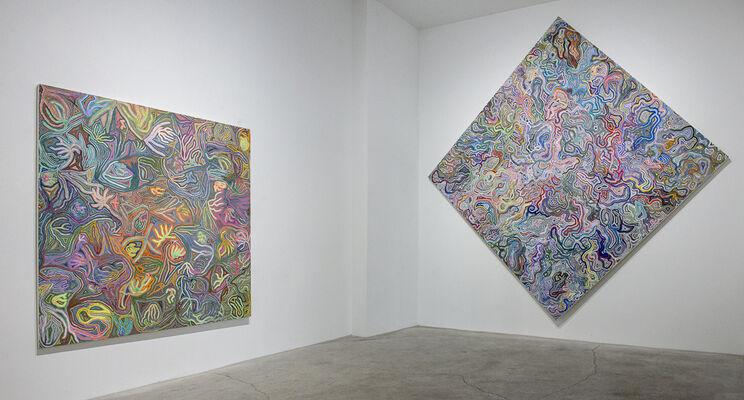 Rising, installation view