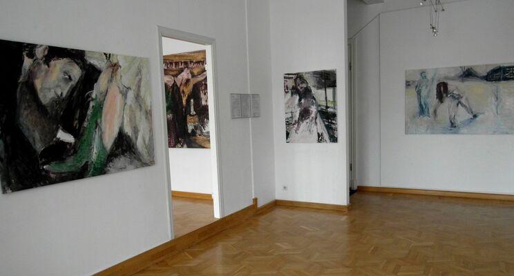 'CITY OF WOMEN', installation view