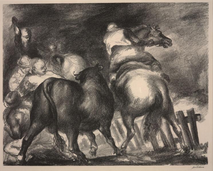 Jon Corbino, 'Escaped Bull', 1937
