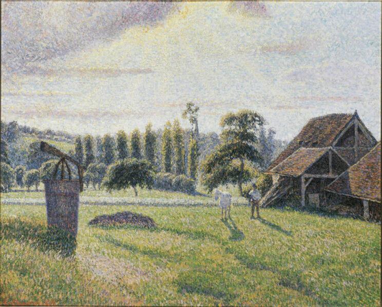 Camille Pissarro, 'La Briqueterie Delafolie à Éragny', 1886