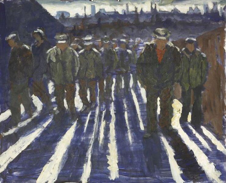 Sylvia Molloy, ''NIGHT SHIFT''