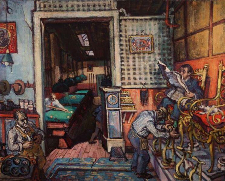 Philip Reisman, 'Nick's', 1980