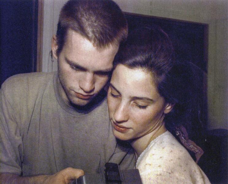 Lucien Samaha, 'Celine and Jorg At Moment of Capture, Crosman Terrace, Rochester, NY,', 1991