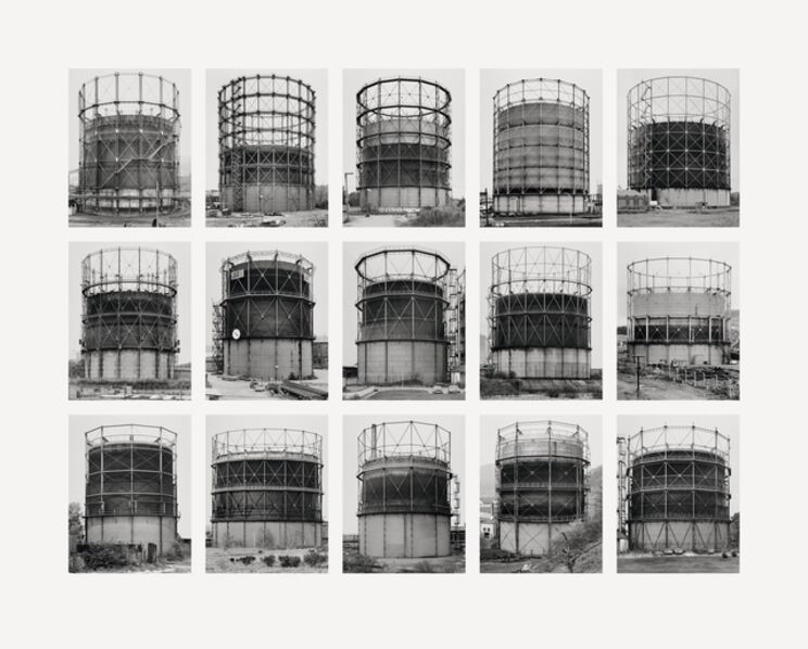 Bernd and Hilla Becher, 'gas container (Gasbehälter)', 2000-2010