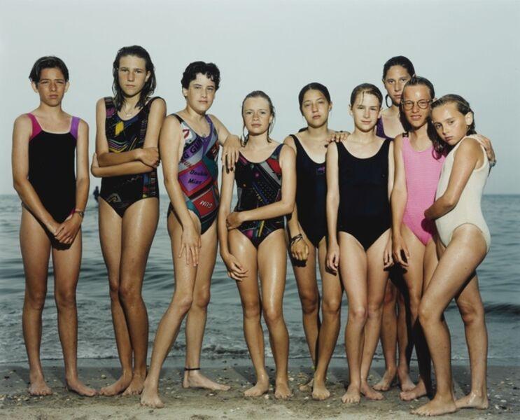 Rineke Dijkstra, 'Castricum aan Zee, The Netherlands, June 1992'