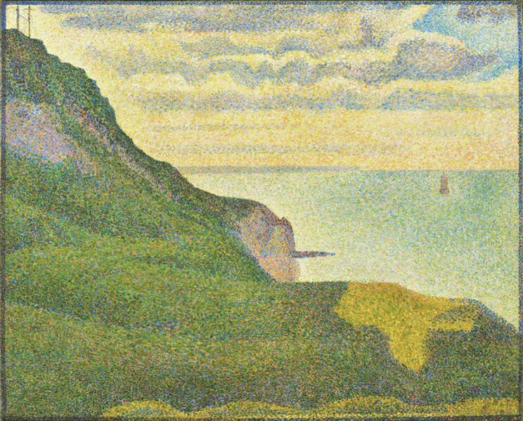 Georges Seurat, 'Seascape at Port-en-Bessin, Normandy', 1888