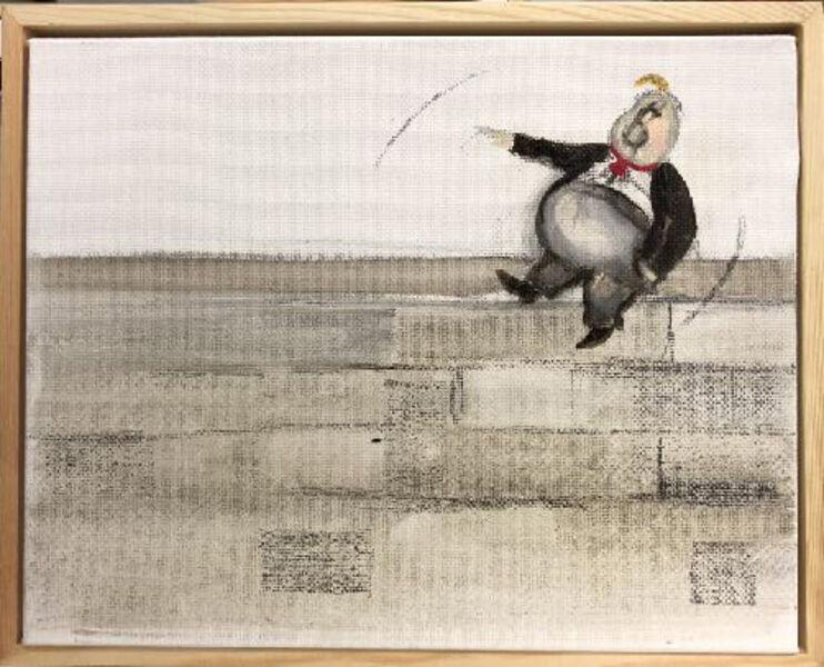 Sandra Ramos, 'Trumpito. Homage to Thomas Nast (Wall)', 2017