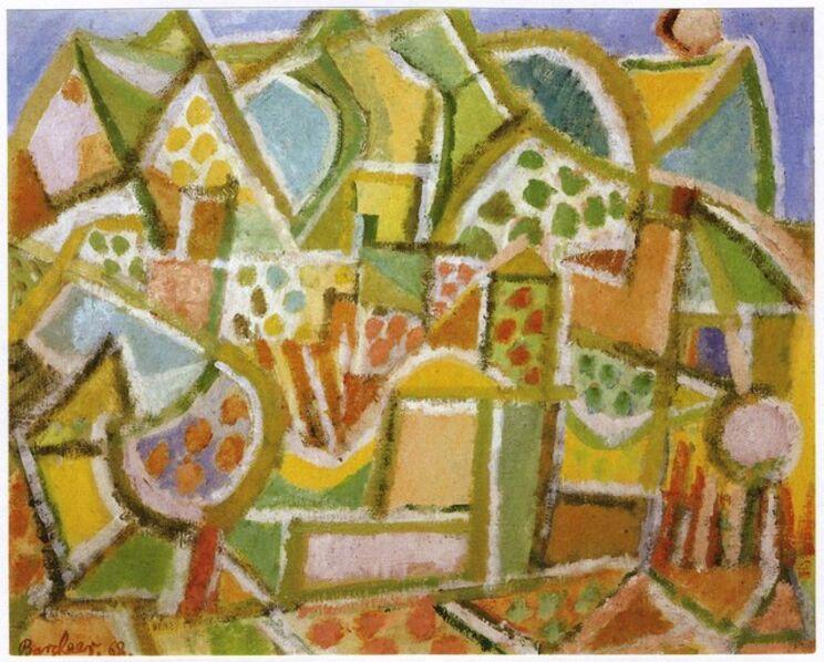 Eduard Bargheer, 'Morgenlandschaft (Landscape in the morning)', 1968
