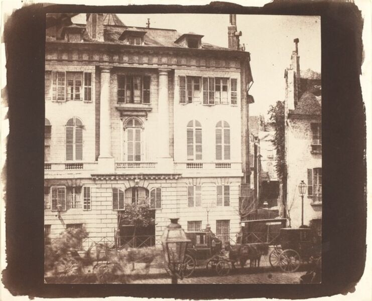William Henry Fox Talbot, 'The Boulevards of Paris', 1843