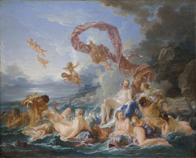 François Boucher, 'Triumph of Venus', 1740