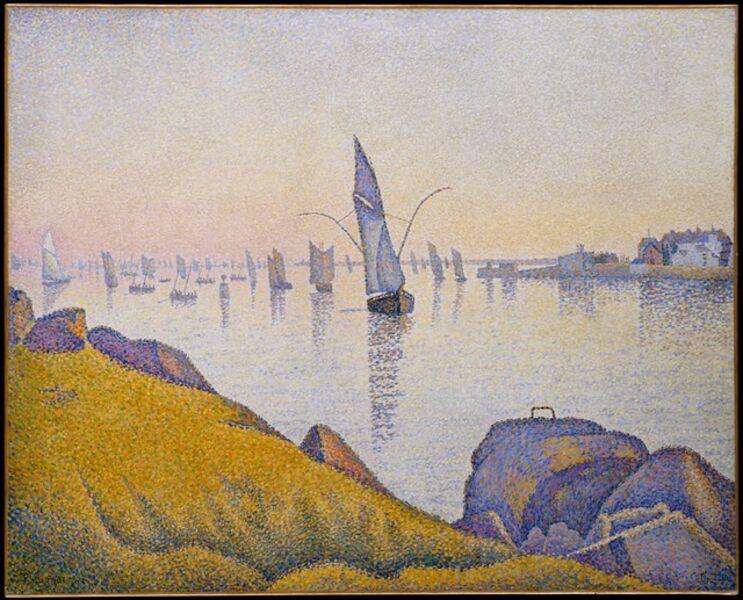 Paul Signac, 'Evening Calm, Concarneau, Opus 220 (Allegro Maestoso)', 1891