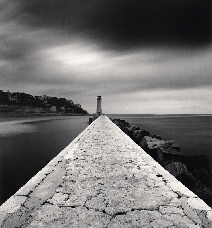 Michael Kenna, 'Quai Amiral Infernet - Nice, France.', 1997, Photography, Sepia toned silver gelatin print, Galeria de Babel