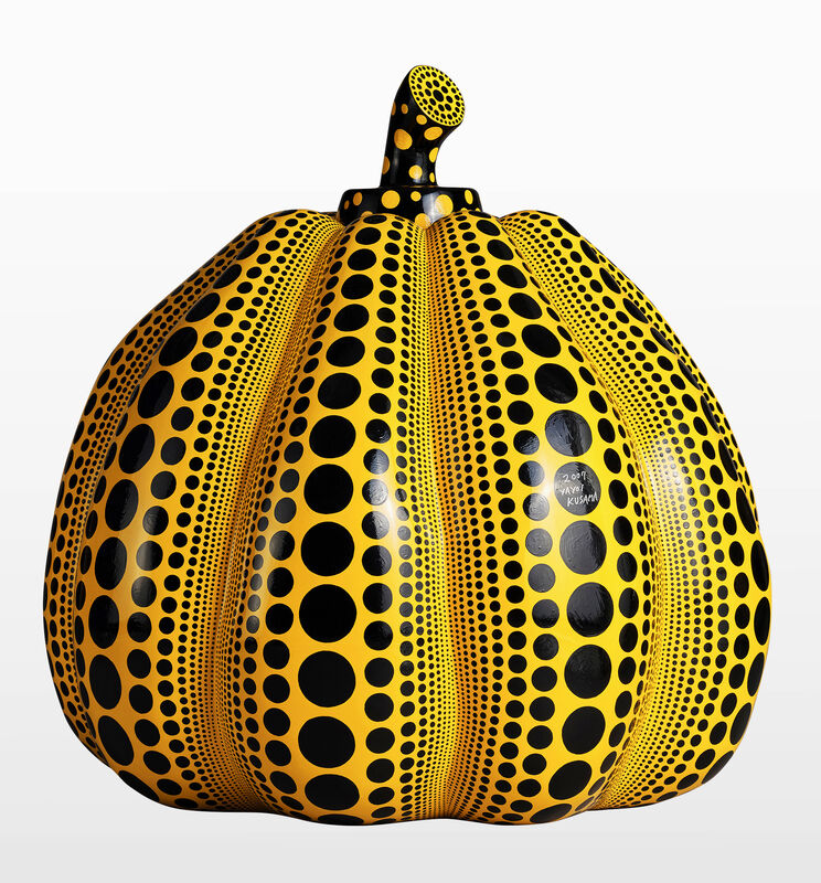 Yayoi Kusama, 'Pumpkin Sculpture', 2007, Sculpture, FRP, Metaphysical Art Gallery