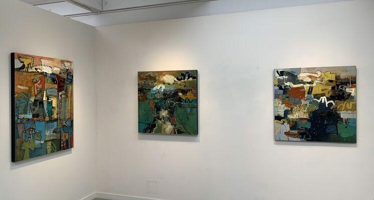 Leslie Allen: Capacious Language, installation view
