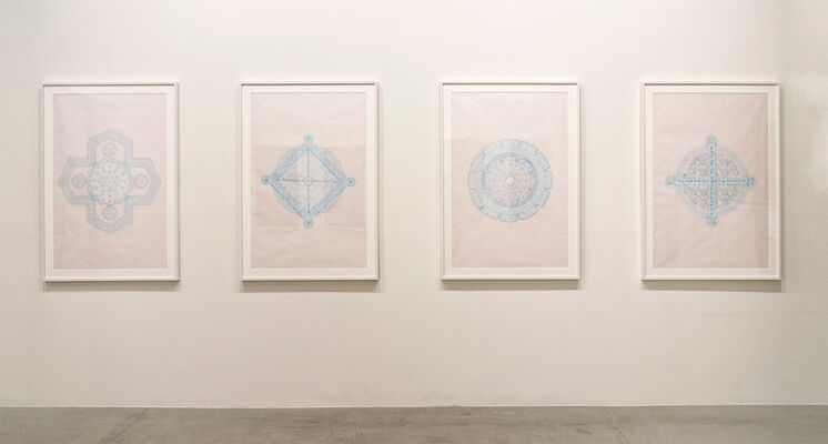 POURAN JINCHI: Dawn, Noon and Night, installation view