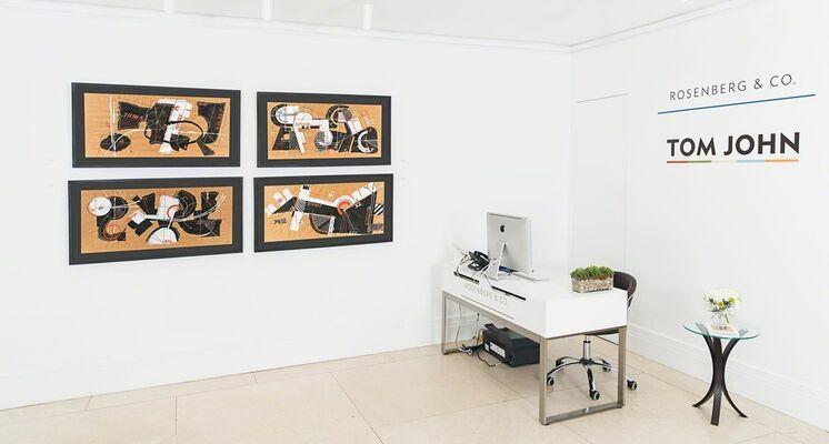 Tom John, installation view
