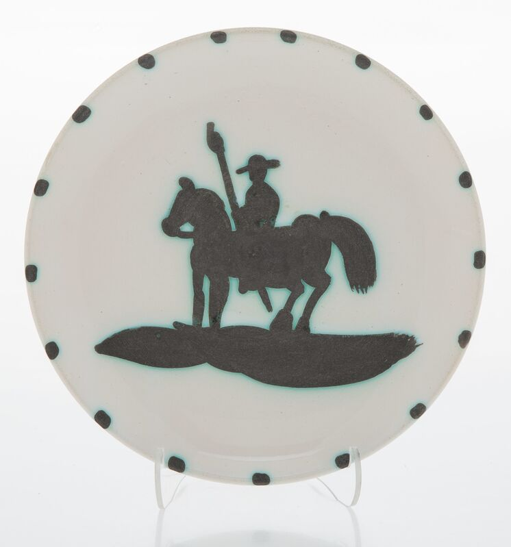 Pablo Picasso, 'Picador', 1952, Design/Decorative Art, Terre de faïence plate, painted and partially glazed, Heritage Auctions