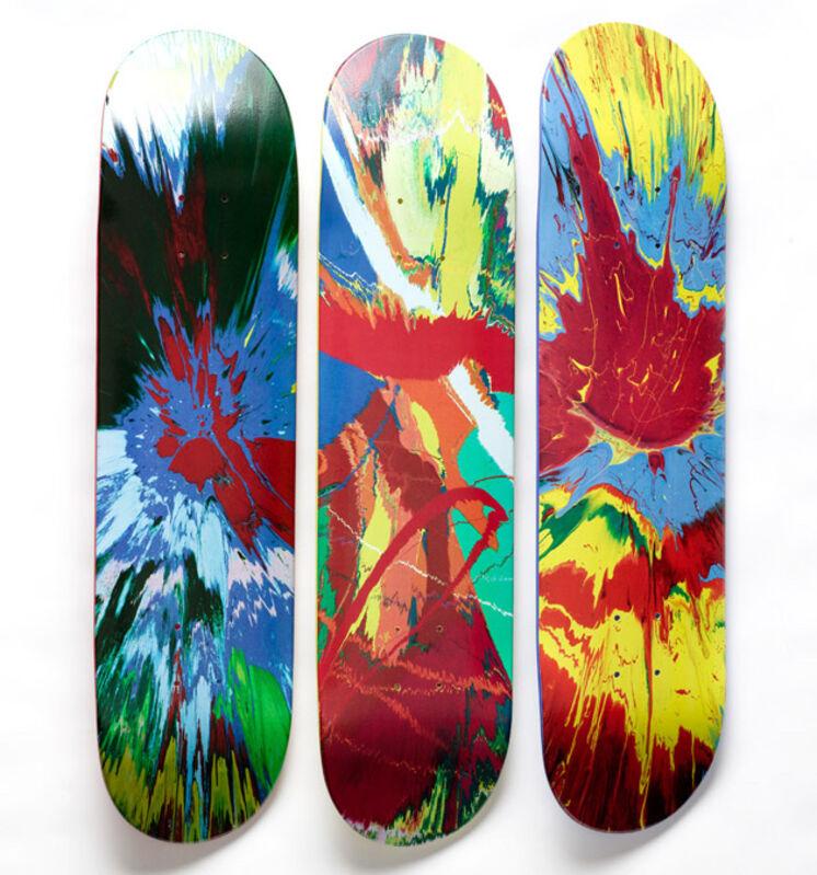 Damien Hirst, 'Set of Three Supreme Skateboards', 2009, Print, Skateboard deck, Remes Advisory
