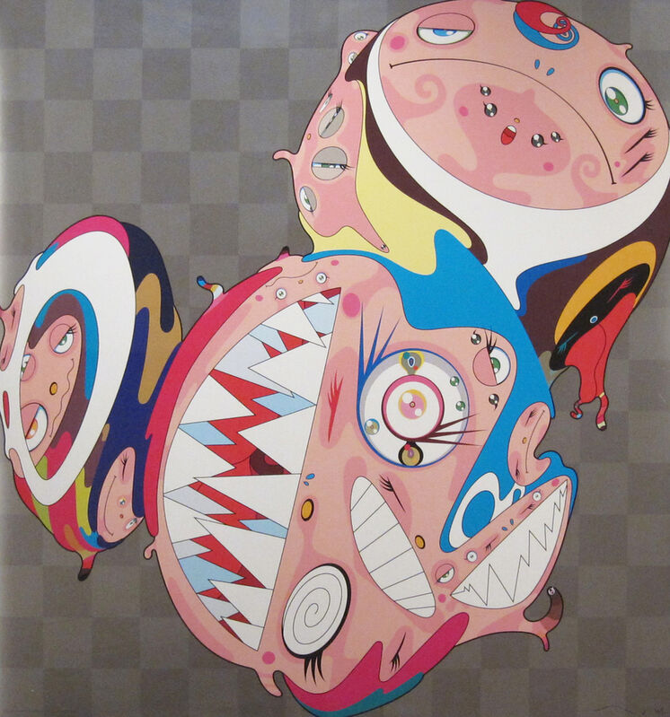Takashi Murakami, 'Melting DOB D', 2000, Print, Lithograph on paper, Rosenfeld Gallery LLC