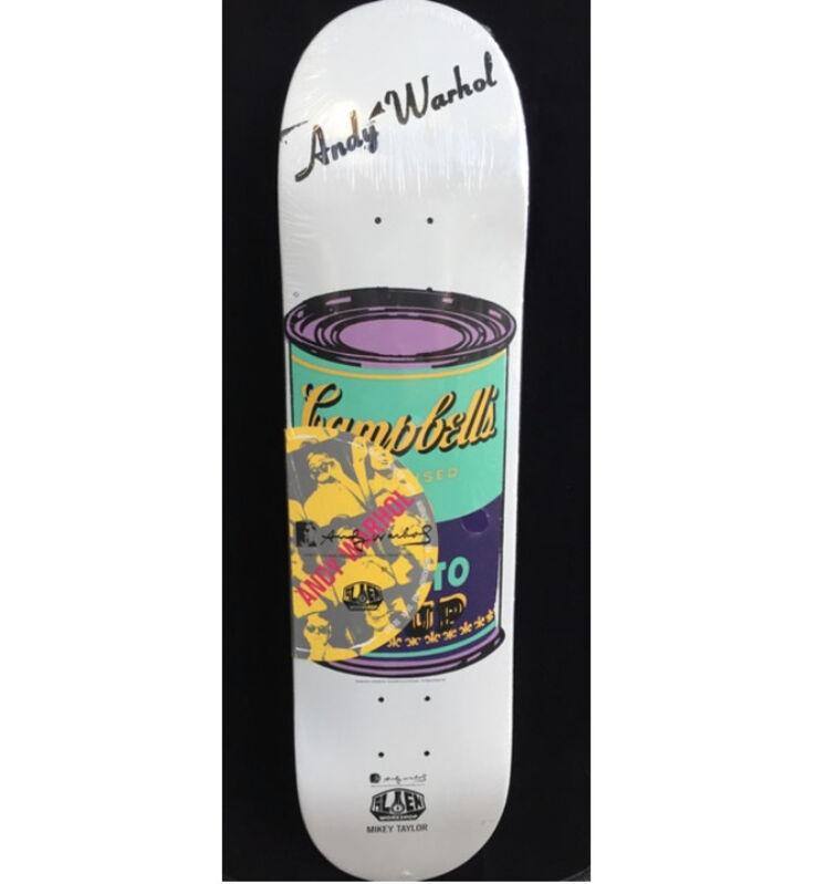 Andy Warhol, 'Andy Warhol Campbell's Soup Skateboard Deck ', ca. 2010, Ephemera or Merchandise, Silkscreen on maple wood skate deck, Lot 180