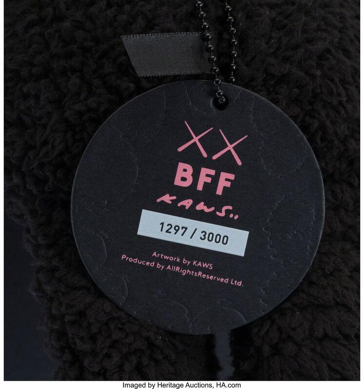 KAWS, 'BFF Companion (Black)', 2016, Other, Plush, Heritage Auctions
