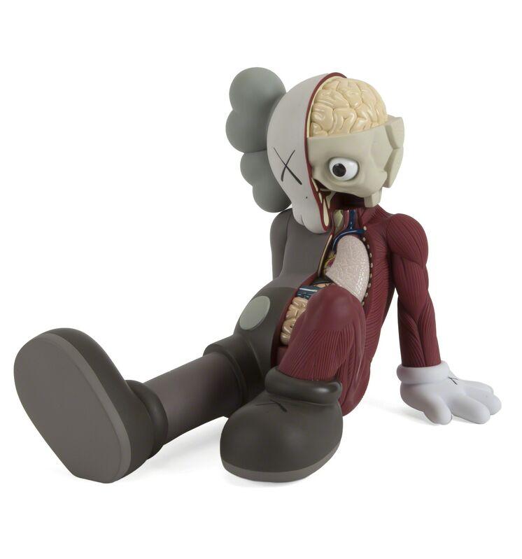 KAWS, 'Resting Place Companion (Brown)', 2012, Sculpture, Cast resin sculpture, Julien's Auctions