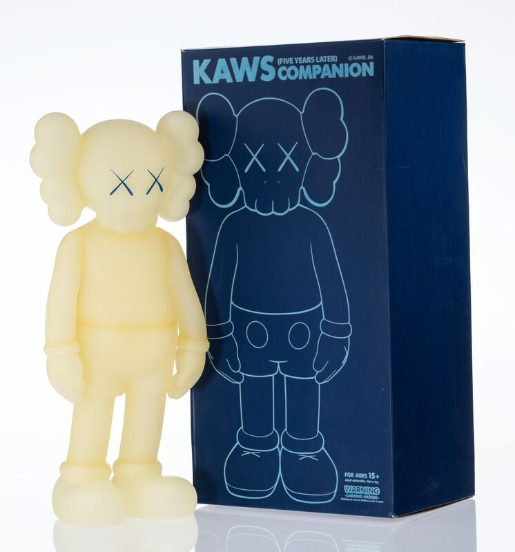 KAWS, 'Five Years Later Companion (Glow in the Dark)', 2004, Other, Cast vinyl, Heritage Auctions