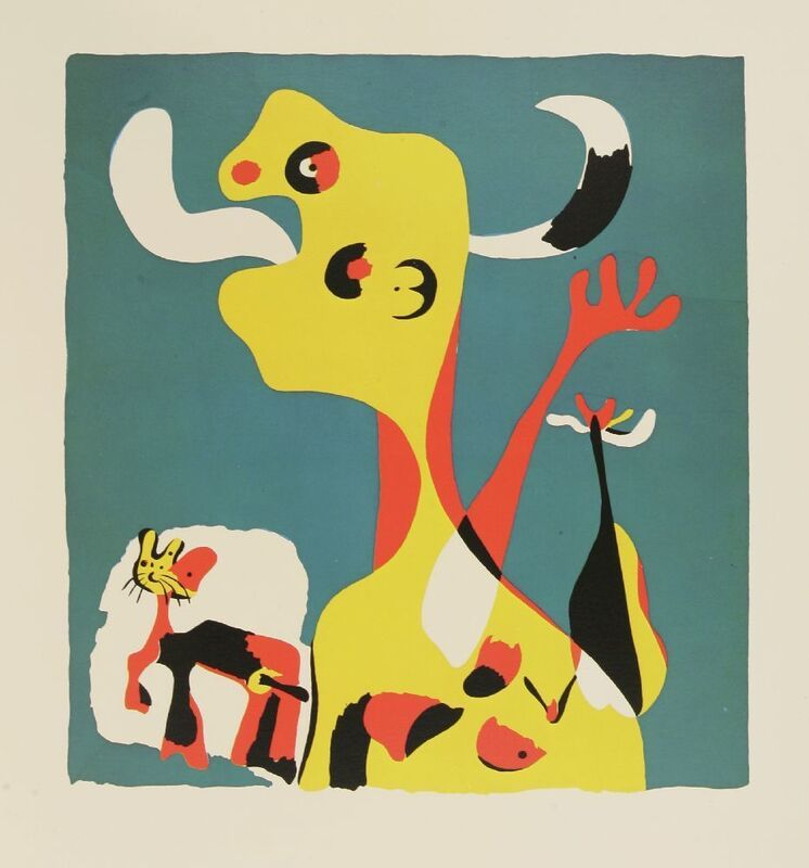 Joan Miró, 'Miró Engraver Volume I: 1928-1860', 1984, Print, The book, containing three woodcuts (one served as wrapper) printed in colours, Sworders
