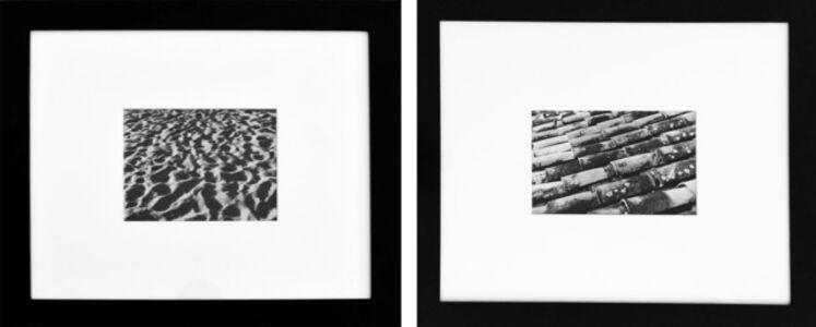 Leo Matiz, 'Diptych: Arena de la Playa and Techos, Mexico. B&W Photography Framed', 1947-1977