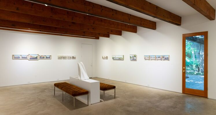 Lloyd Brown: Cross Country on Highway 50, installation view
