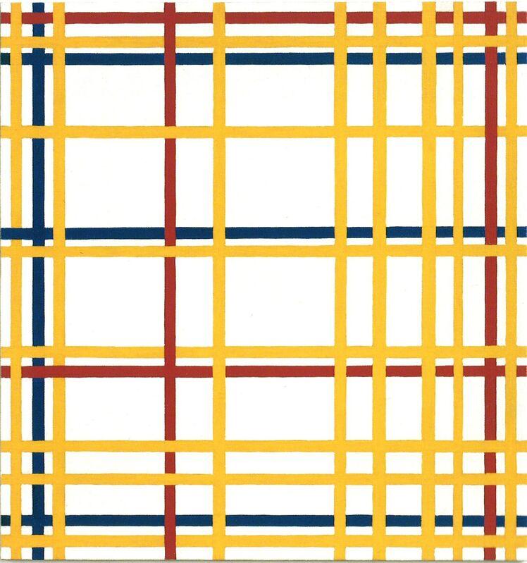 "Richard Pettibone, 'Piet Mondrian, ""New York City"", 1941-42', 1996, Painting, Oil on canvas in artist's frame, Collectors Contemporary"